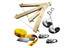 Slackline-Tools Frameline Set Kids Slackline Børn 8 m gul/rød